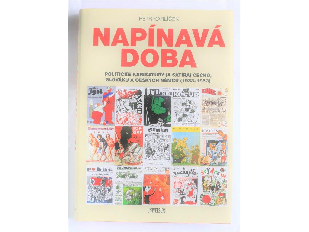 Kniha Napínavá doba - Bazar