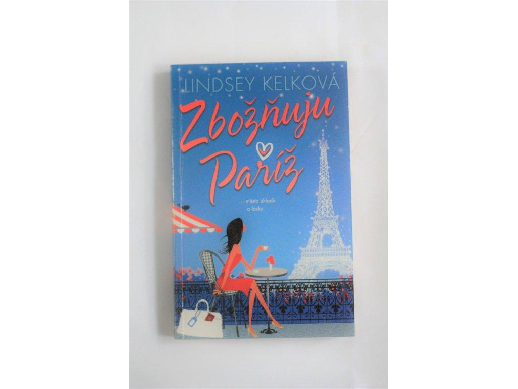 Kniha Zbožňuju Paříž - Bazar