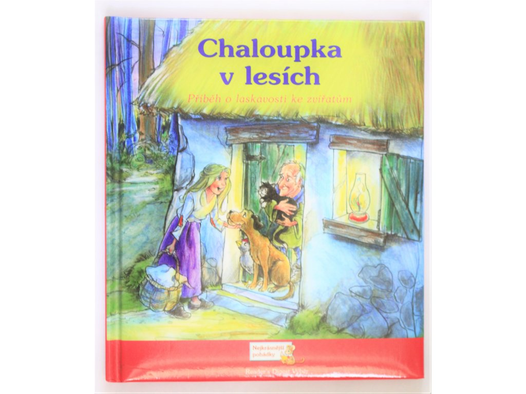 Kniha Chaloupka v lesích - Bazar