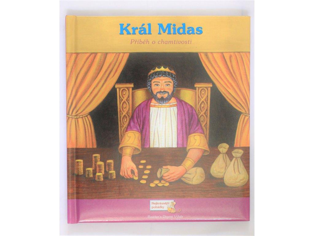 Kniha Král Midas - Bazar
