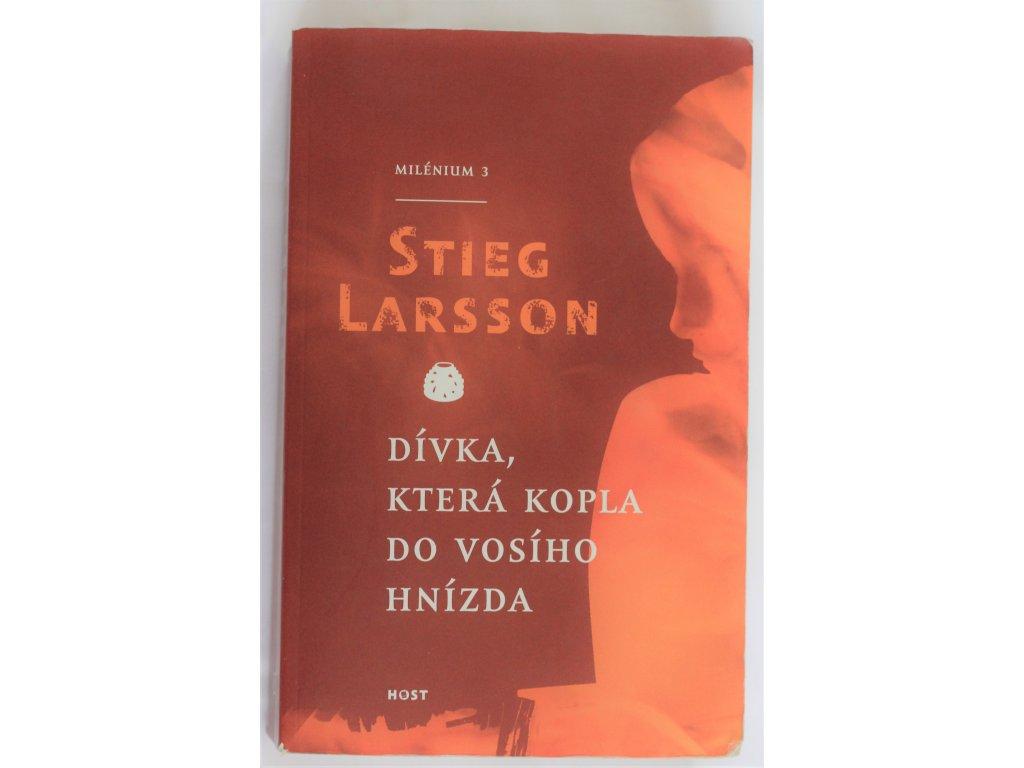 Kniha Dívka, která kopla do vosího hnízda - Bazar