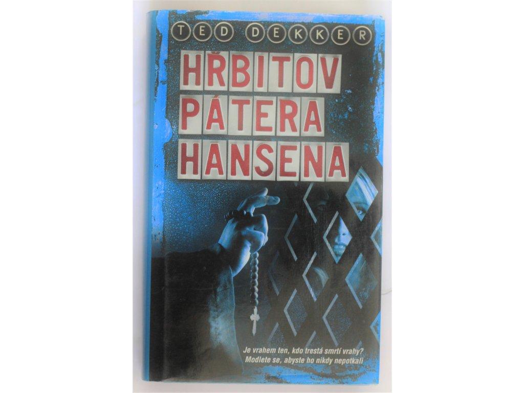 Kniha Hřbitov pátera Hansena - Bazar
