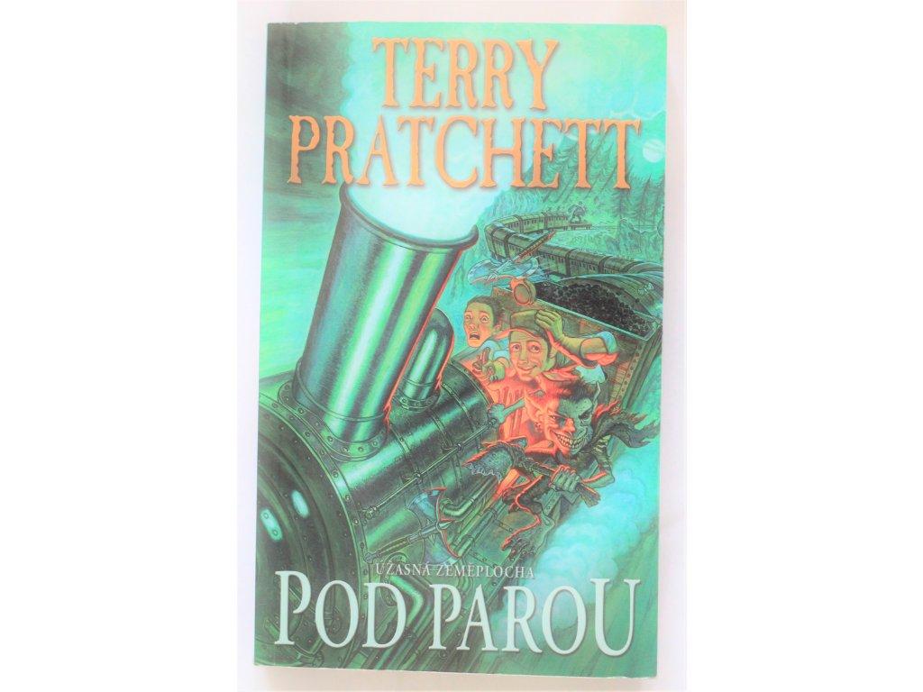 Kniha Úžasná Zeměplocha: Pod parou - Bazar