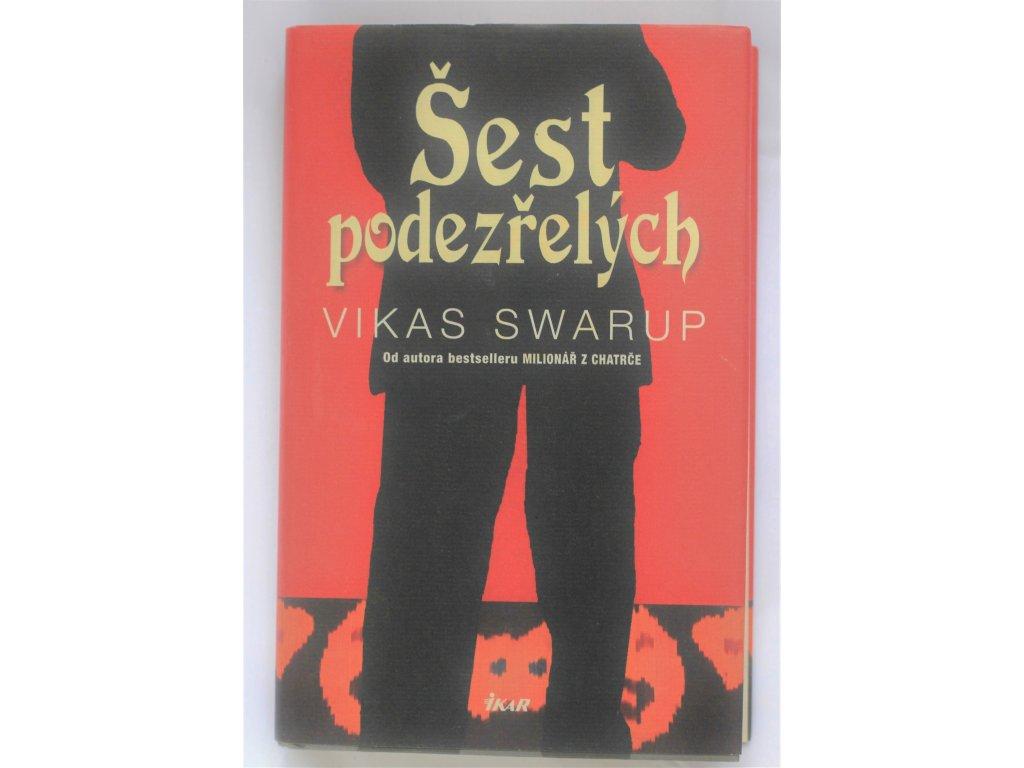 Kniha Šest podezřelých - Bazar