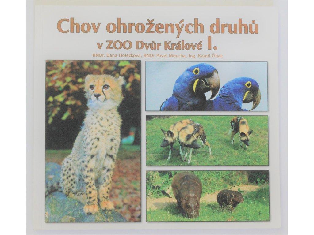 Kniha Chov ohrožených druhů - Bazar