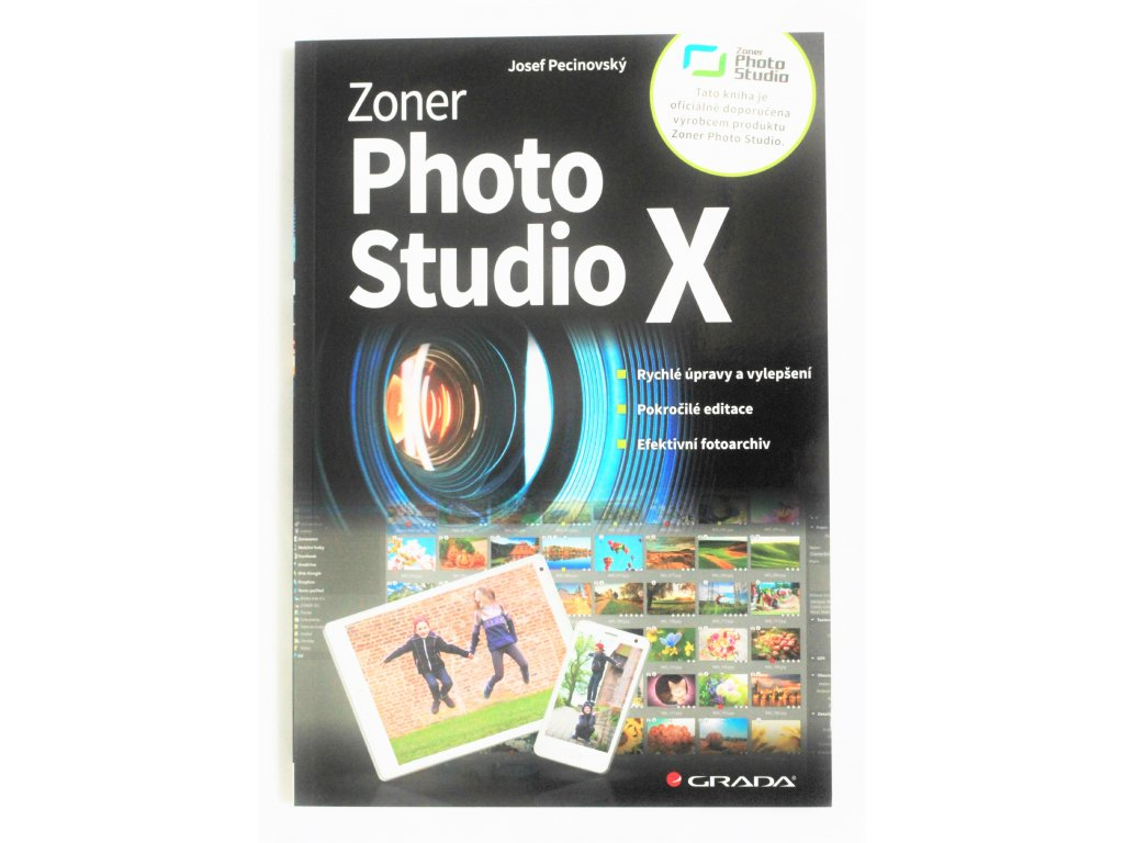Kniha Zoner photo studio X - Bazar