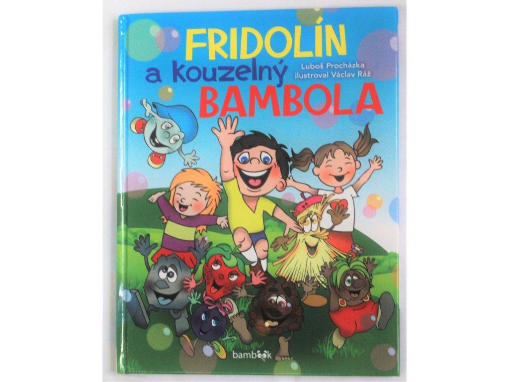 Kniha Fridolín a kouzelný Bambola - Bazar