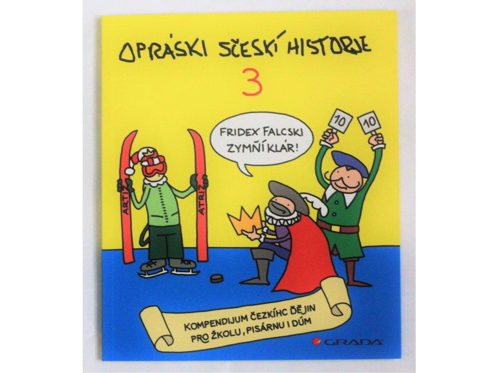 Kniha Opráski sčeskí historje 3 - Bazar