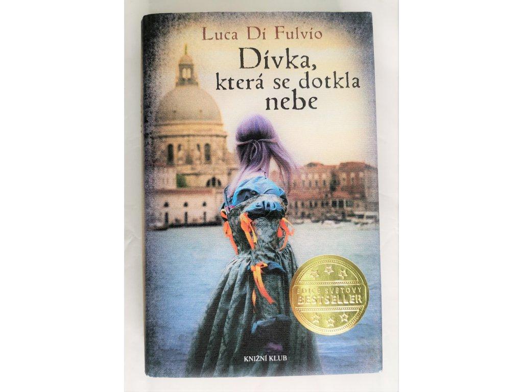 Kniha Dívka, která se dotkla nebe - Bazar