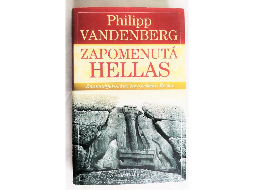 Kniha Zapomenutá Hellas - Bazar