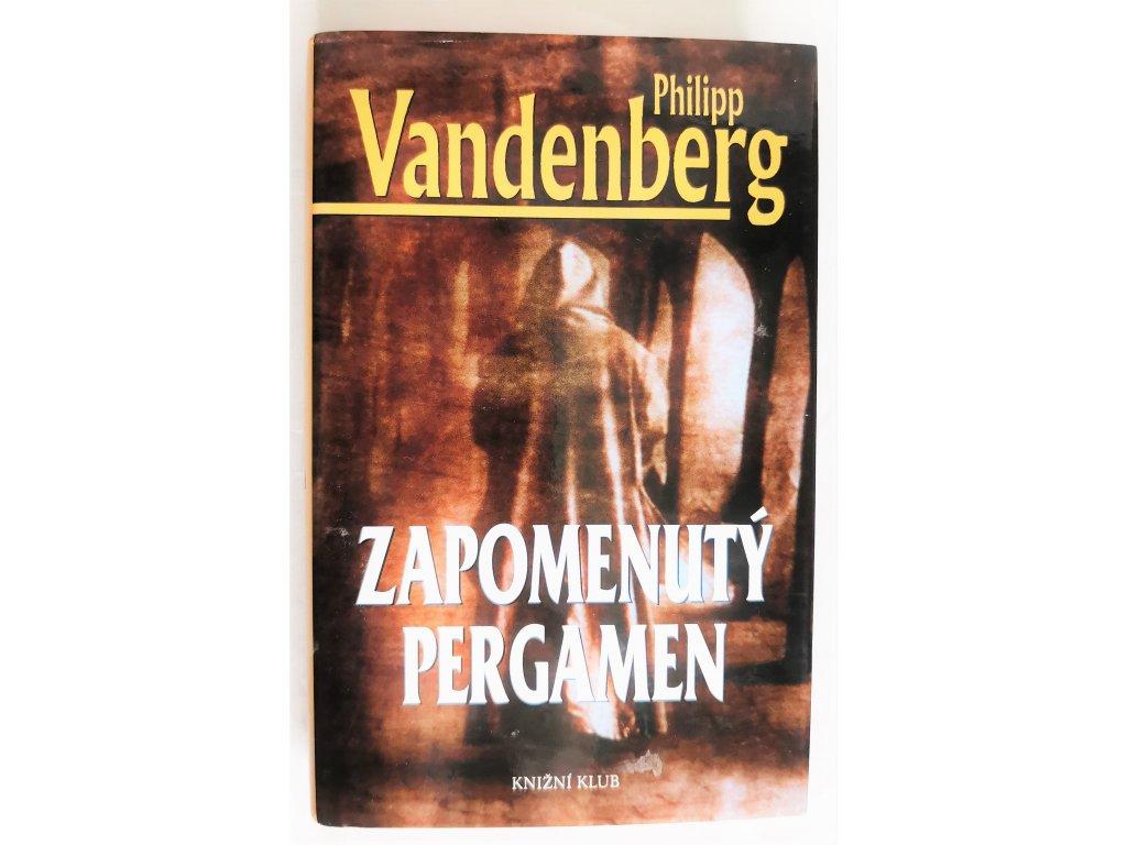 Kniha Zapomenutý pergamen - Bazar