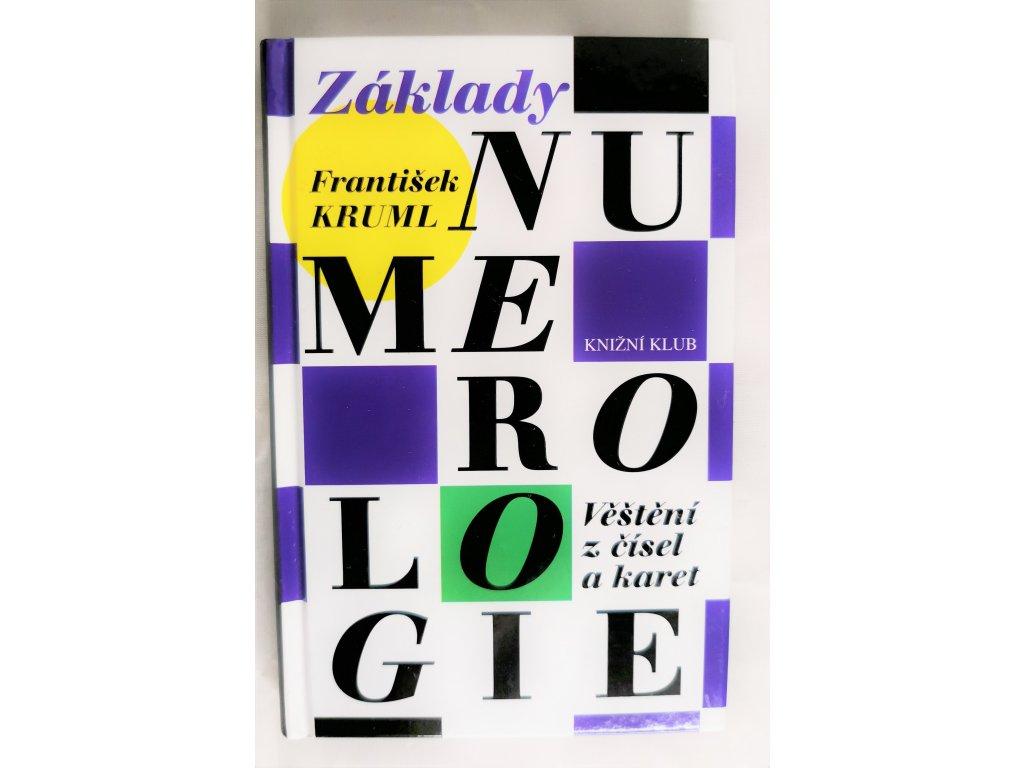 Kniha Základy numerologie - Věštění z čísel a karet - Bazar