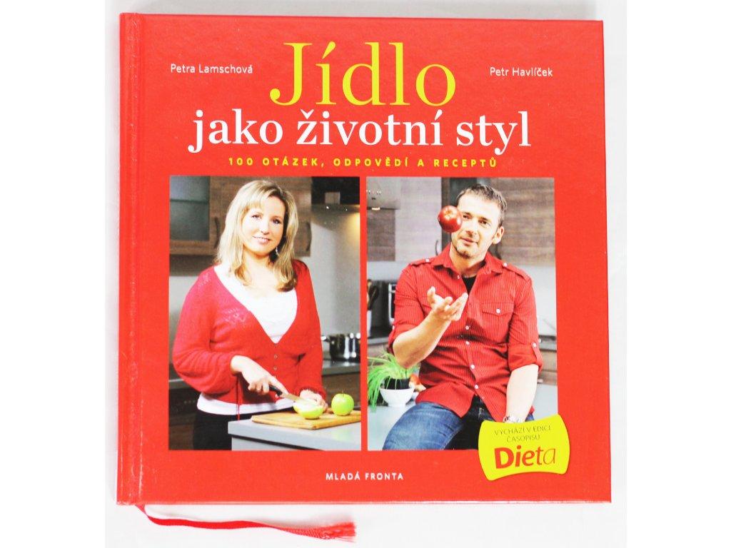 Kniha Jídlo jako životní styl - Bazar