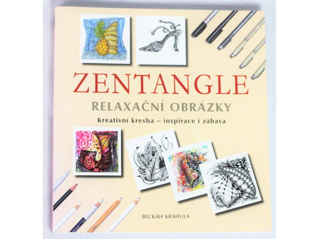 Kniha Zentangle - Relaxační obrázky - Bazar