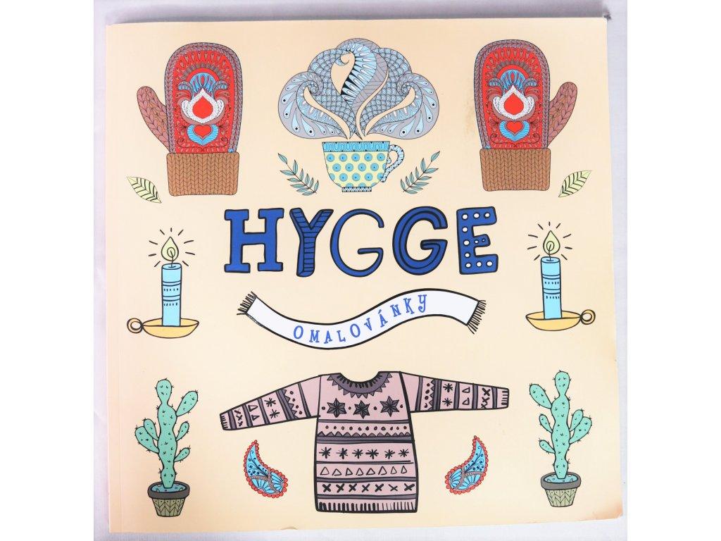 Kniha Omalovánky Hygge - Bazar