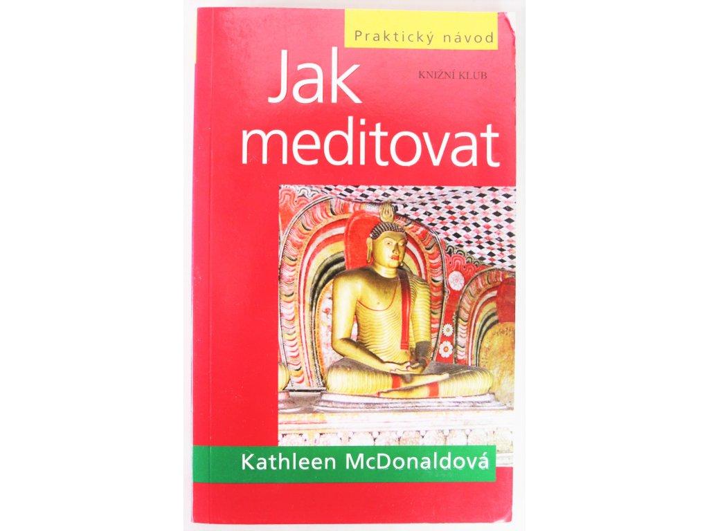 Kniha Jak meditovat - Bazar