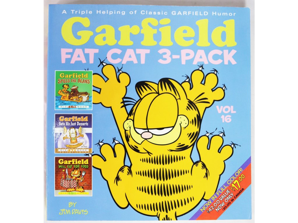 Kniha Comic Garfield 3-Pack - English - Bazar