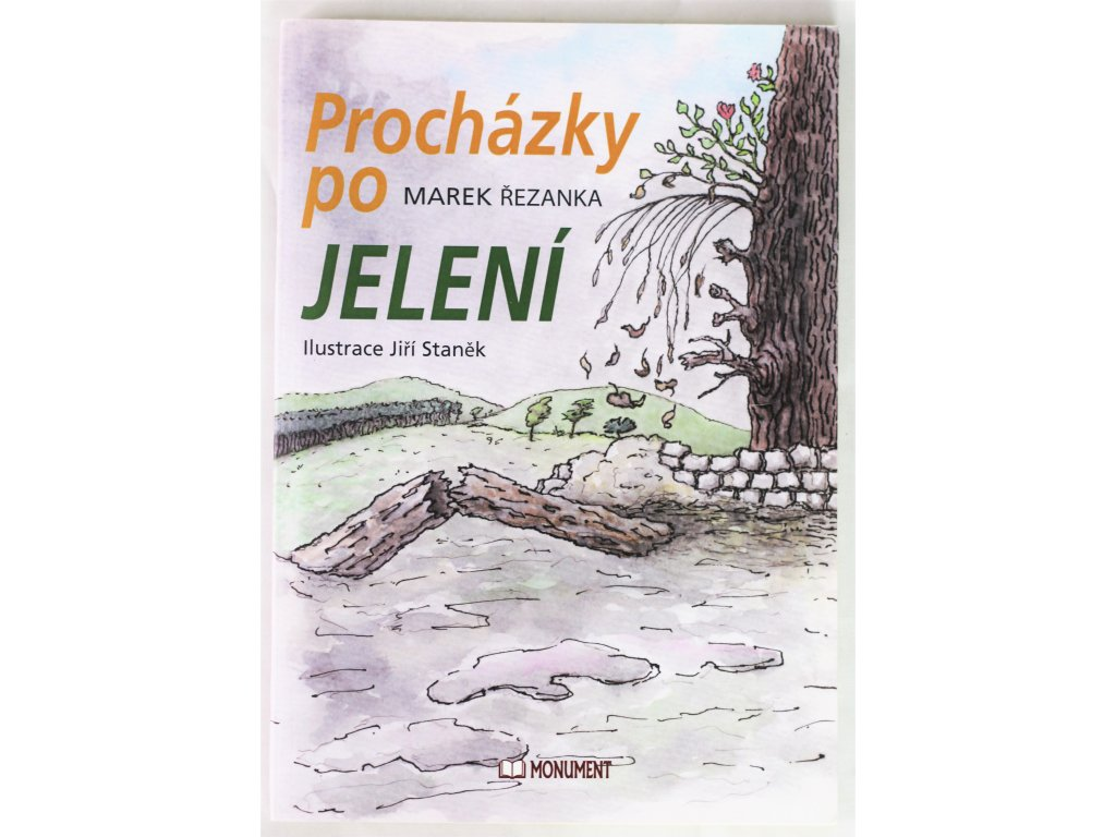 Kniha Procházky po Jelení - Bazar