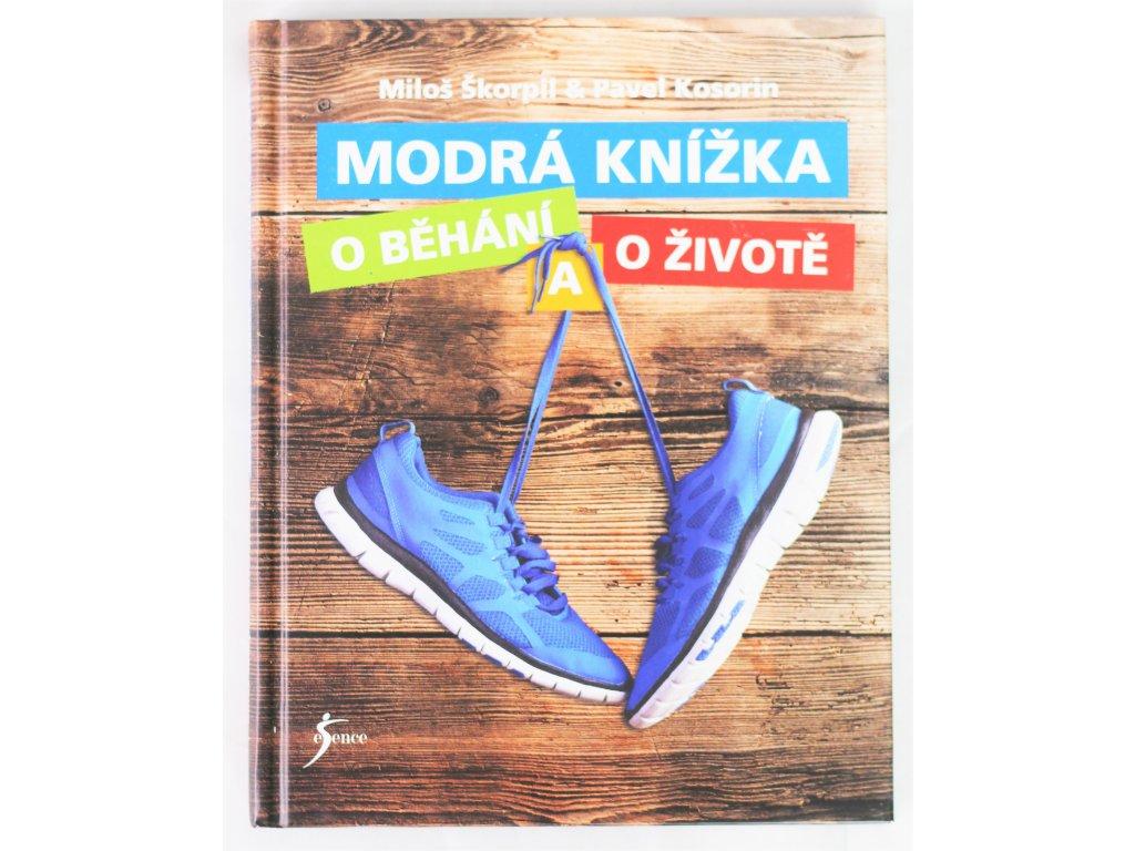 Kniha Modrá knížka o běhání a o životě - Bazar