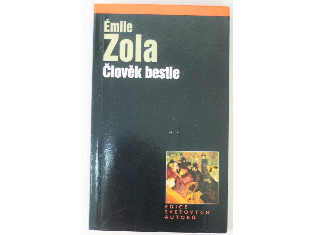 Kniha Člověk bestie - Bazar