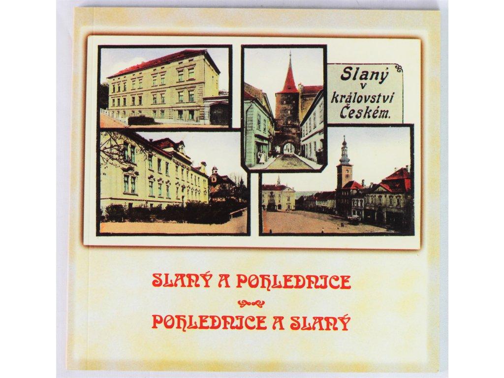 Kniha Slaný a pohlednice, pohlednice a Slaný - Bazar
