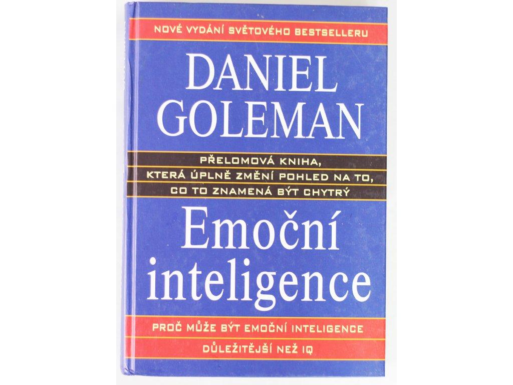 Kniha Emoční inteligence - Bazar