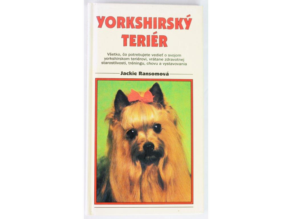 Kniha Yorkshirský teriér - Bazar