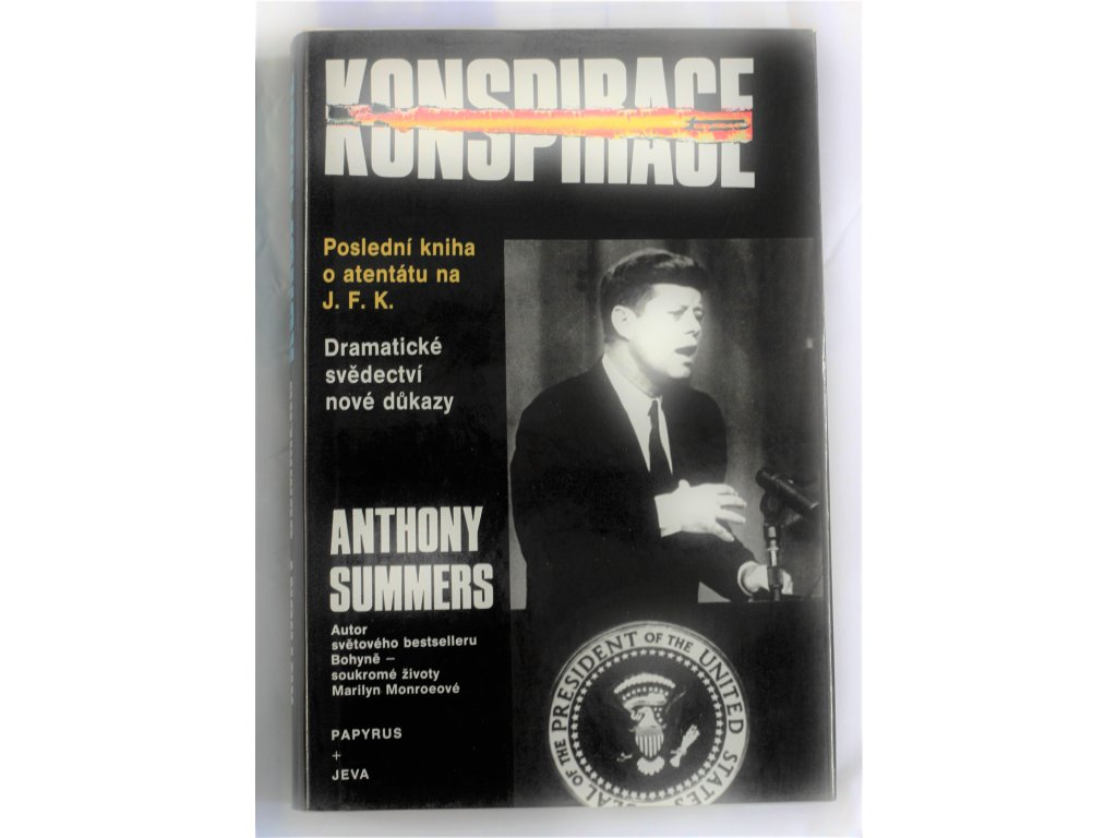 Kniha Konspirace Anthony Summers - Bazar