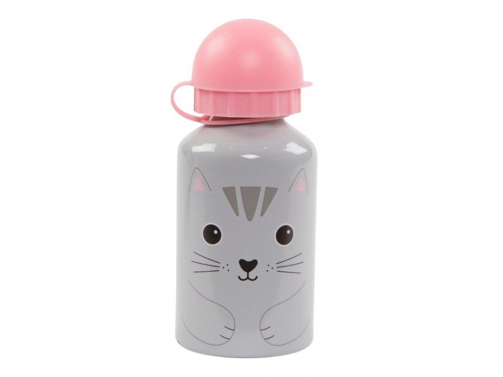 Nori Cat Kawaii Friends Kids Water Bottle1