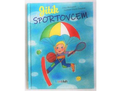 Kniha Jitík sportovcem - Bazar
