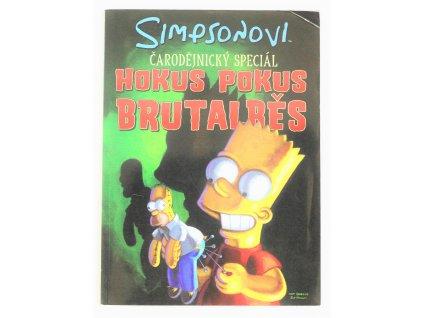 Kniha Simpsonovi: Hokus pokus brutalběs - Bazar