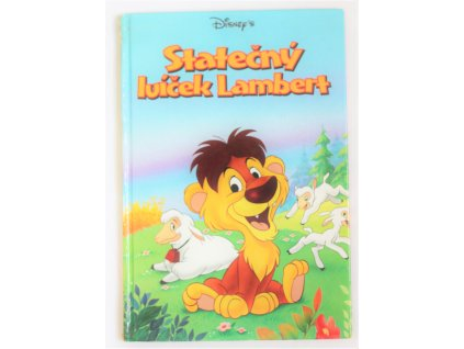 Kniha Statečný lvíček Lambert - Bazar