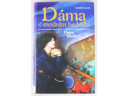 Kniha Dáma v modrém hedvábí - Bazar