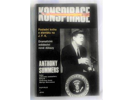 Kniha Konspirace Anthony Summers - Bazar