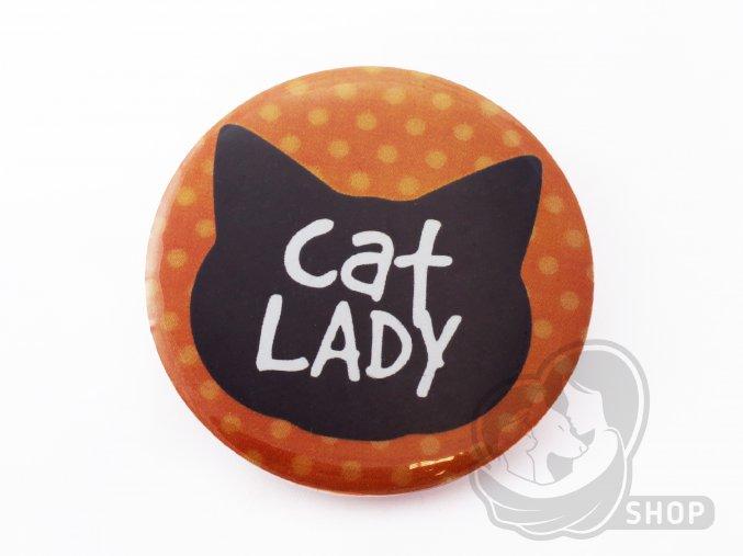 Placka CAT LADY