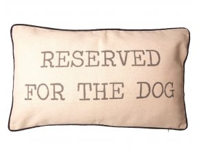 Reserved for the Dog Cushion1