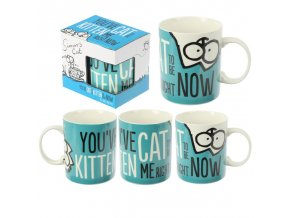 MUG276 Kitten Slogan Simons Cat Mug