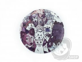 Placka Zvířátka Handipetu - Pinky