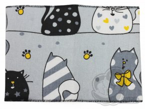 Obal na očkovák šedé kočky