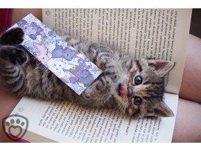 Záložka do knihy - zvířátka z Handipetu