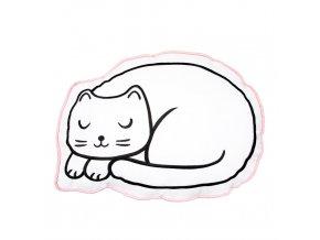 Cutie Cat Nap Time Decorative Cushion1
