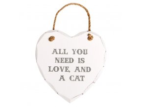 All You Need Is Love and Cat Heart Plaque1