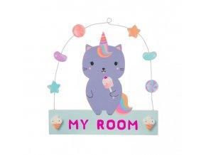 Luna Caticorn Sweeties Hanging Plaque1