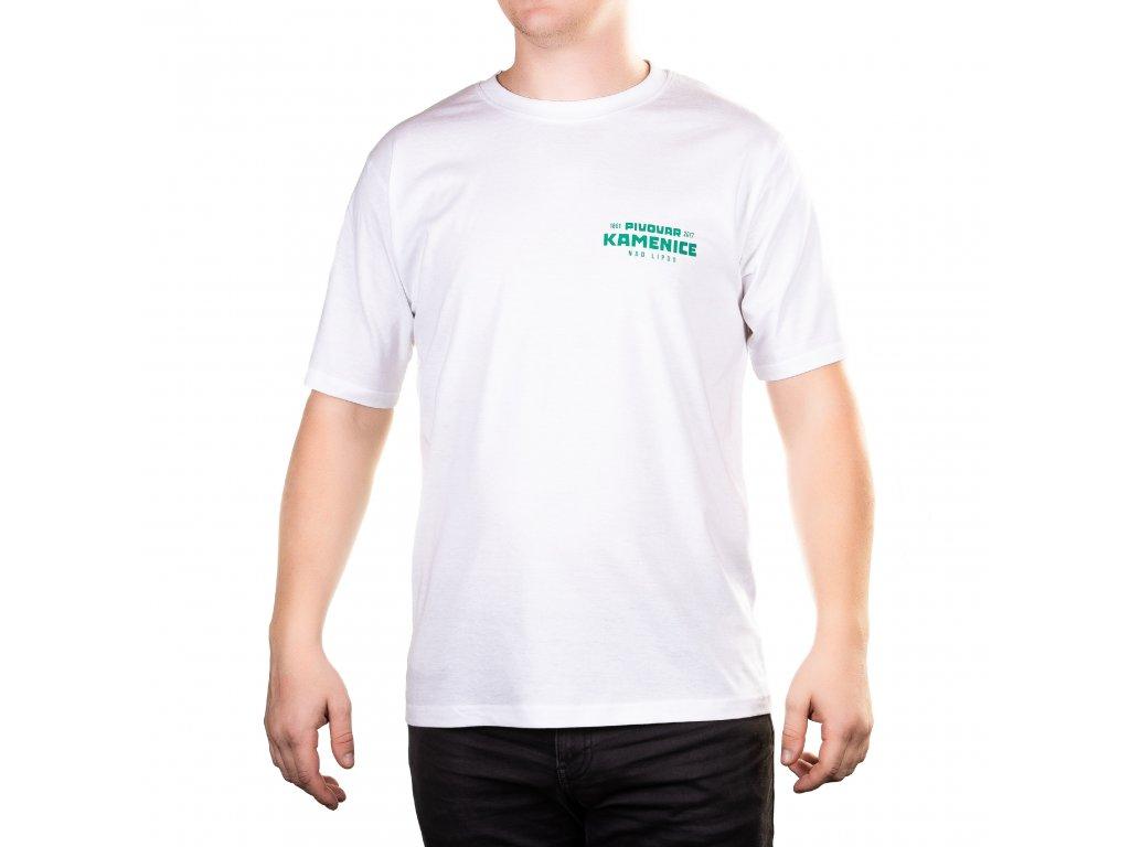 Tričko bílé - pánské