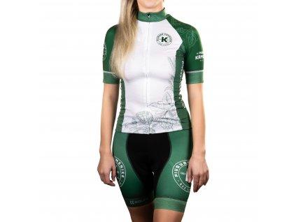 Cyklistický dres - dámský