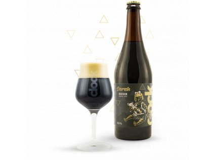 sarah bourbon barrel aged