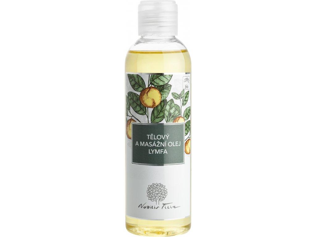 N1139I Tělový a masážní olej Lymfa 200 ml