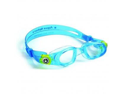Aqua Sphere plavecké brýle MOBY KID CLEAR LENS čirý zorník
