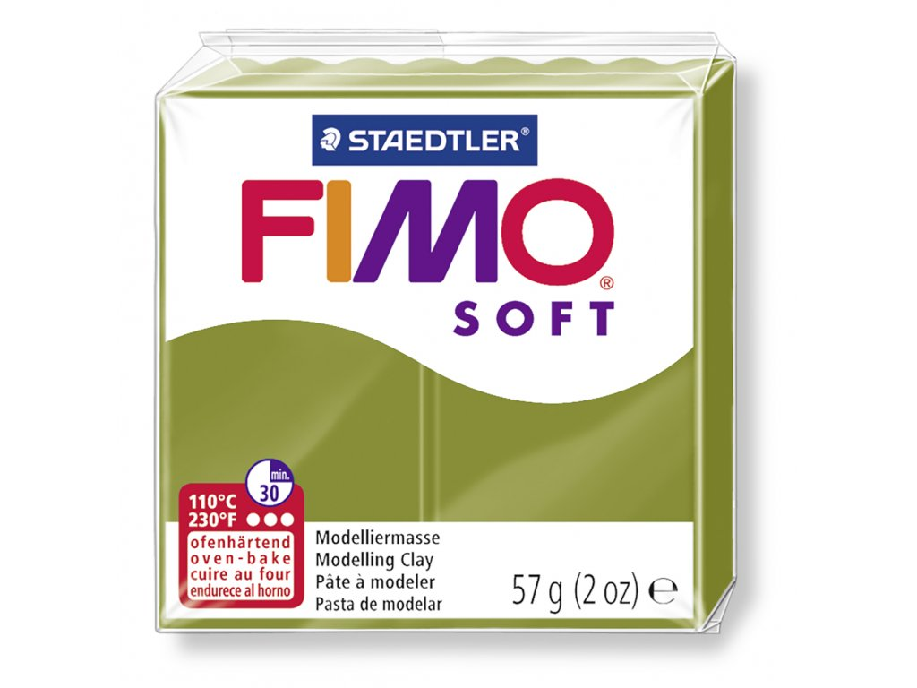Fimo Soft - Olive green