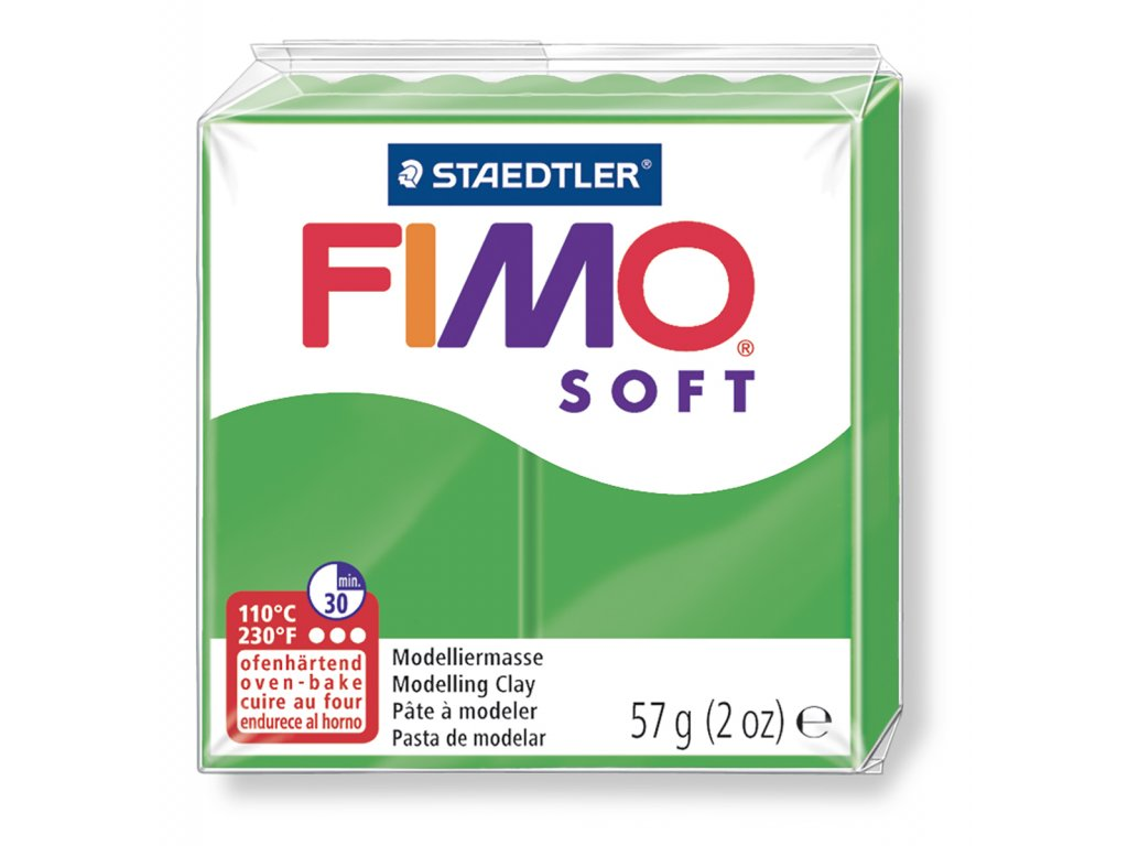 Fimo Soft - Tropical green